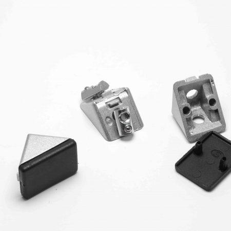 Winkel, Verbinder, Zentriersätze